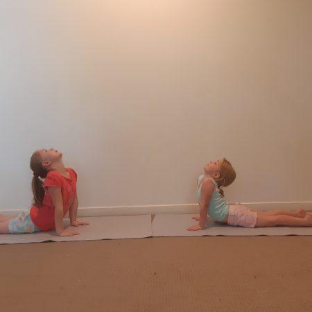 kids yoga pose cobra